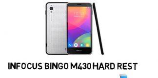 InFocus Bingo M430 hard reset