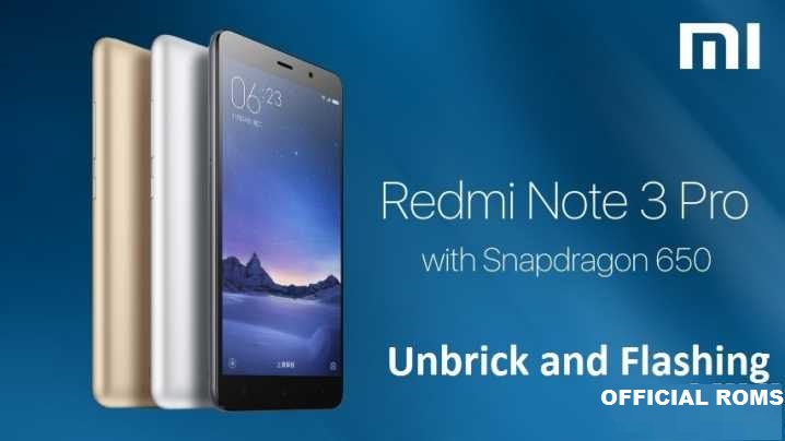 How To flash Using EDL Mode to Flash Redmi Note 3  2017