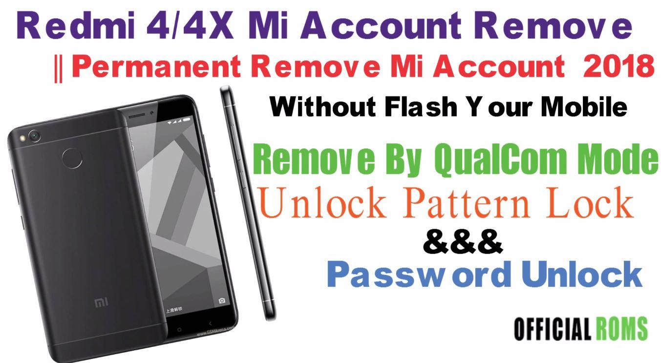 Xiaomi Mi Account Unlock Unlock - Bikeriverside
