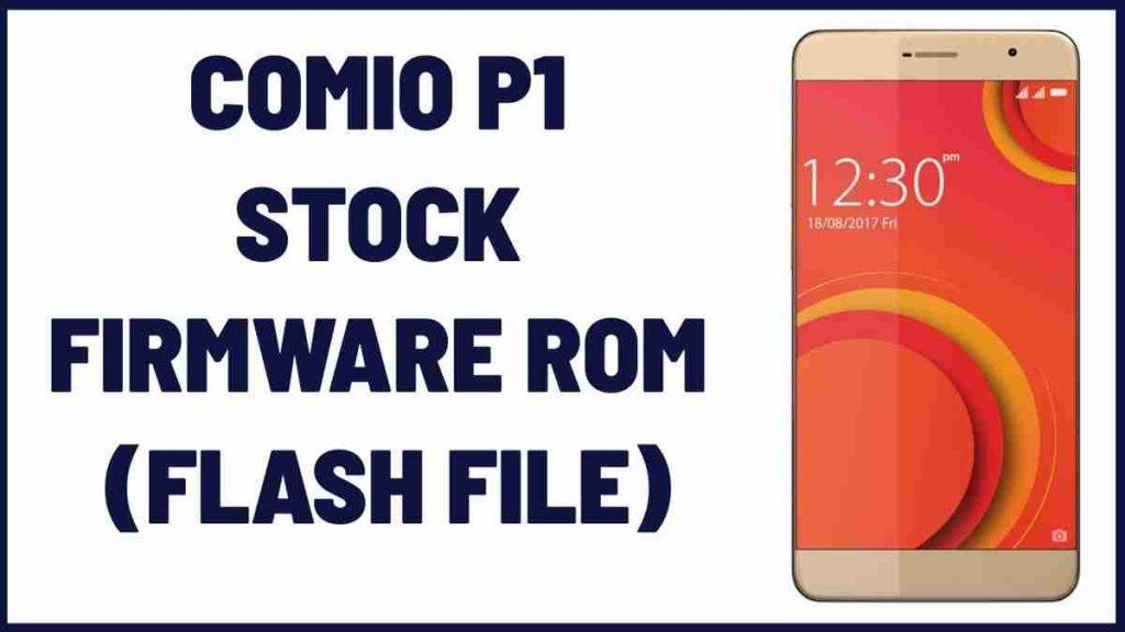 Comio C1 Flash File
