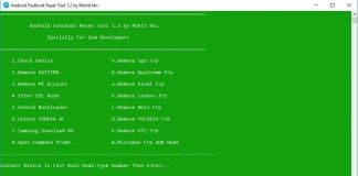 Android Fastboot Reset Tool 1.2