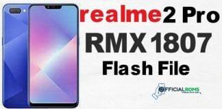 realme 2 pro Flash File