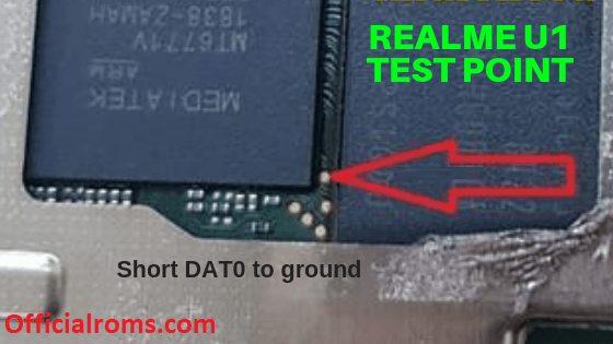 Realme U1 Test Point