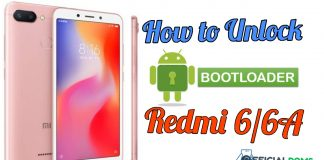 How To Unlock Bootloader On Redmi 6 Series Redmi 6A/6 Pro