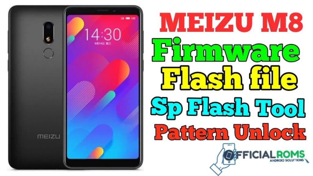 meizu m8 Firmware Flash File Using Sp Flash Tool