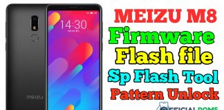 meizu m8 Firmware Flash File Using Sp Flash Tool