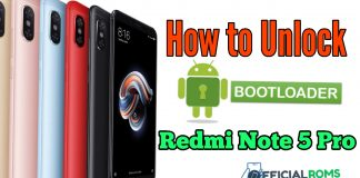 How To Unlock Bootloader On Xiaomi Redmi Note 5 Pro