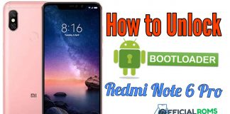 How To Unlock Bootloader On Redmi Note 6 Pro