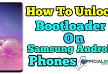 unlock the device bootloader