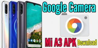 Google Camera For Mi A3 apk Download