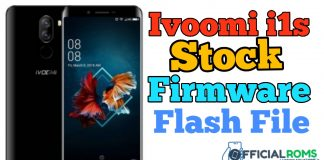 Ivoomi i1s Stock Firmware ROM (Flash File)
