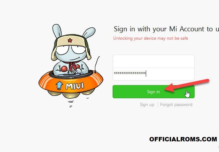 Username or Password Mi account Enter Here