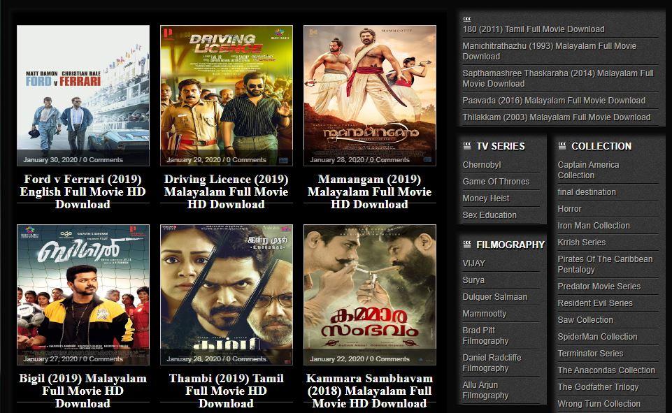Cinemavilla – 2020 Malayalam, Tamil Movies Download DVDPlay cinemavilla net