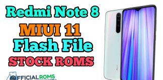 Redmi Note 8 MIUI11 Flash File Latest Version (Stock Rom)