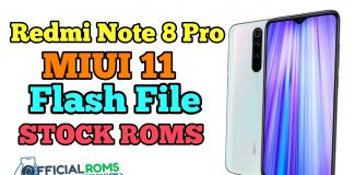 Redmi Note 8 Pro MIUI 11 Flash File (Stock Rom)