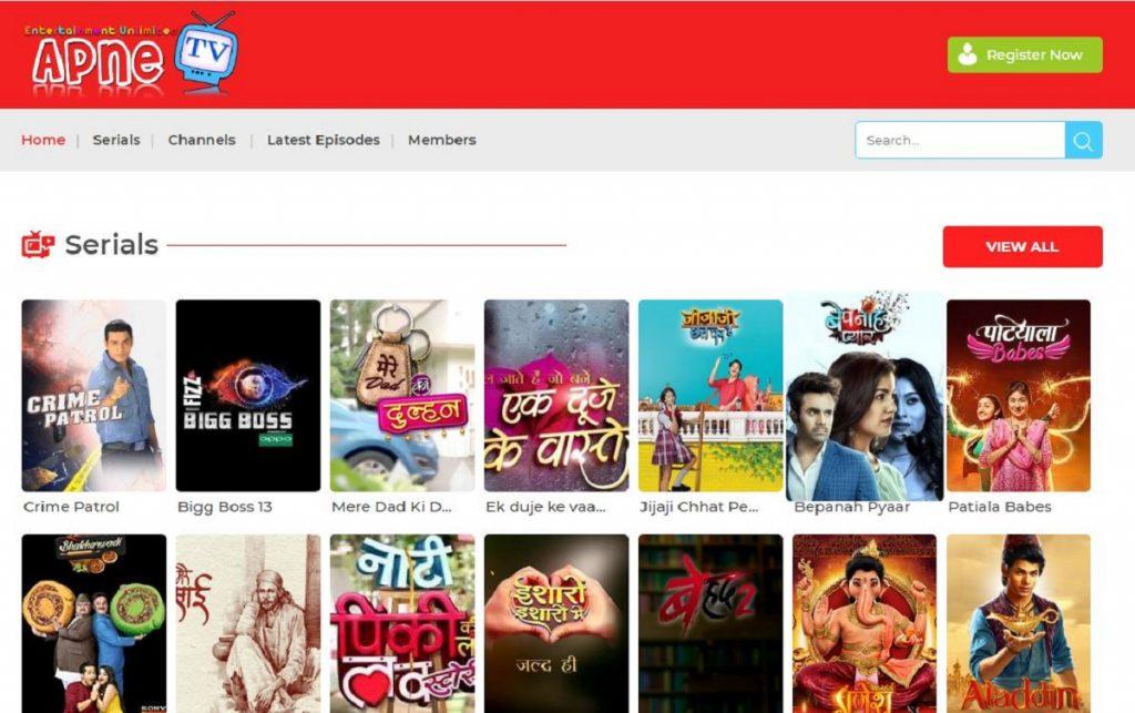Apne TV 2020 Latest TV Shows & Programs Hindi Series apnetv