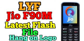 LYF Jio F90m Working Flash File