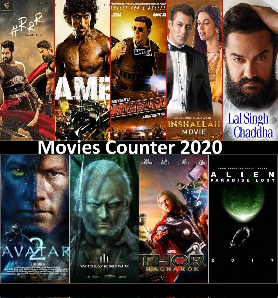 Movies Counter 2020 Hollywood & Bollywood Movies