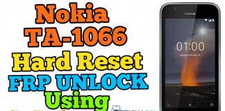 Nokia 1 TA-1066 Hard Reset Frp Bypass Using Sp Tool 2020