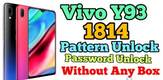 Vivo Y93 1814 Pattern & Password Unlock