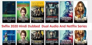 9xflix 2020 Hindi Dubbed Dual Audio And Netflix Series