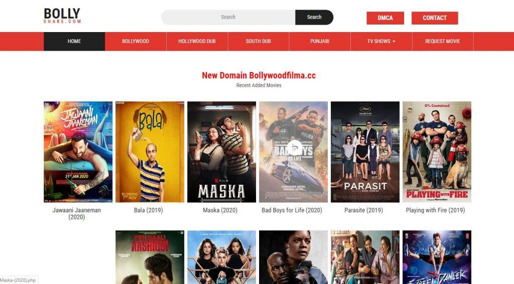 Bollyshare 2020 720p Alternatives HD Hollywood & Bollywood Movies