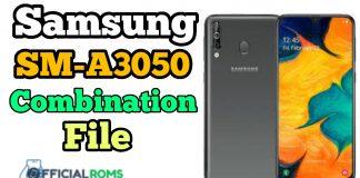 SM-A3050 Combination File