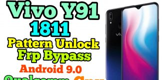Vivo 1811 Pattern Remove