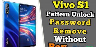 Vivo S1 Pattern Unlock