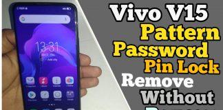 Vivo V15 Pattern Unlock Using MRT