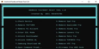 Android Fastboot Reset Tool V2.0