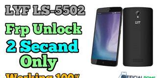LYF LS-5502 frp Unlock