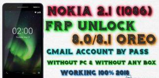 Nokia 6.1 TA -1089 Frp