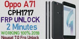 Oppo-A71-FRP-Lock