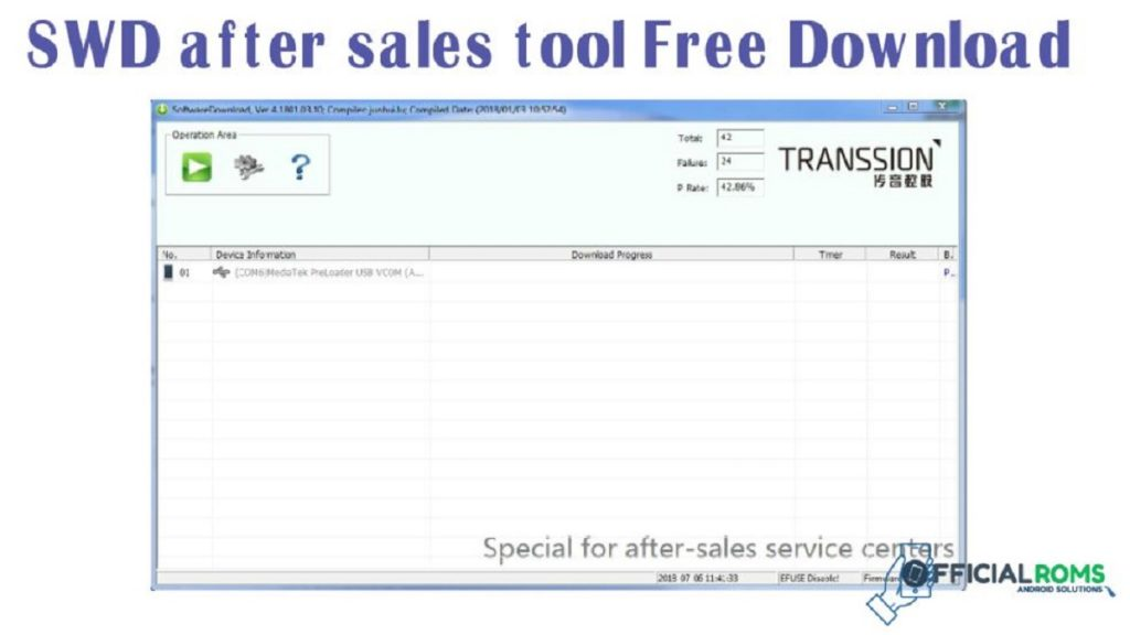 SWD after sales tool
