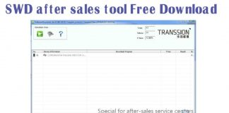 SWD after sales tool Free Download