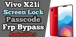 Vivo-X21i-Screen Lock