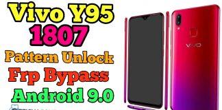 Vivo-Y95-1807-Pattern-Unlock