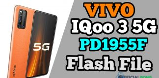 Vivo iqoo 3 5G Flash File