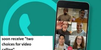 Whatsapp 50 users to make video calling