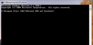 Download Minimal ADB and Fastboot Tool (all versions)