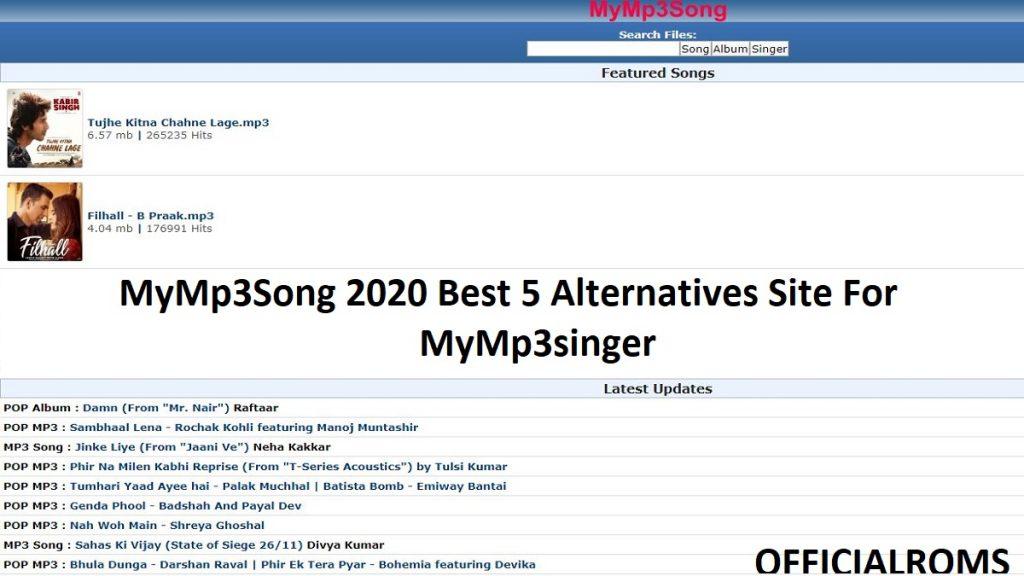 MyMp3Song 2020 Best 5 Alternatives Site For MyMp3singer
