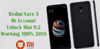 Redmi Note 5 Mi Account Remove
