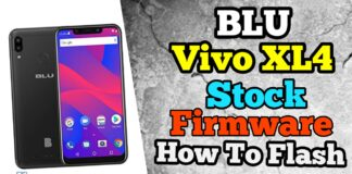 How to Flash Stock Firmware in BLU Vivo XL4 File