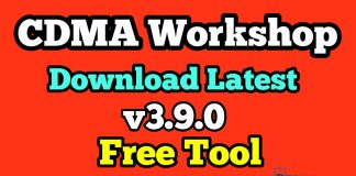 CDMA Workshop Download Latest Version V3.9.0 Free Tool