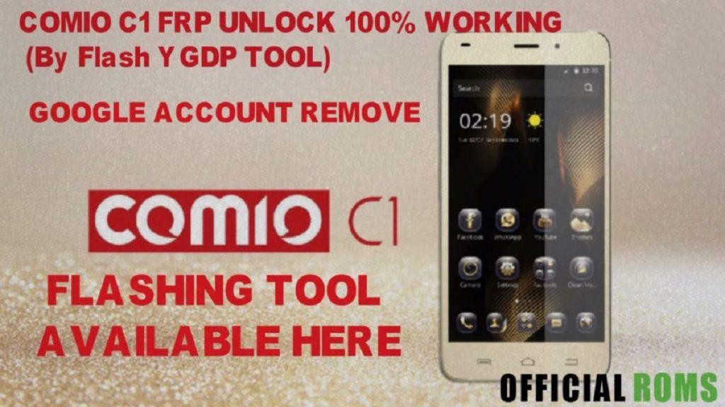 Comio C1 Stock Firmware flash file (Frp Unlock)