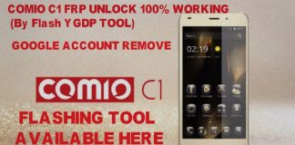 Comio C1 Stock Firmware flash file (Frp Unlock)