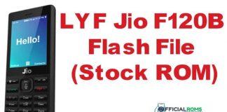 LYF Jio F120B Flash File Hang on Logo (Stock ROM) 2020