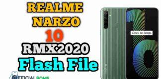 Realme Narzo 10 RMX2020 Flash File (Stock Firmware) 2020