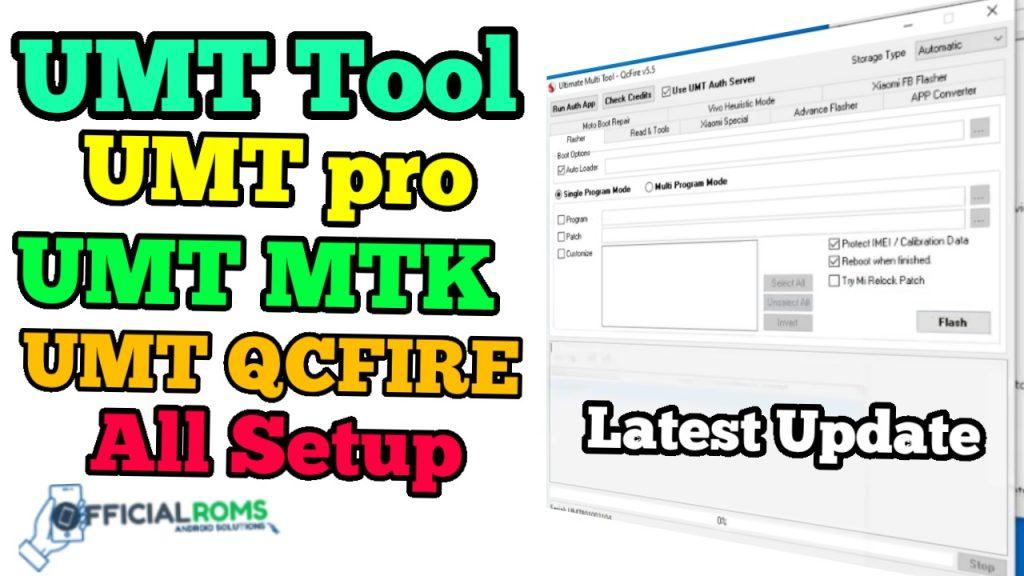UMT Tool  Ultimate Multi Tool